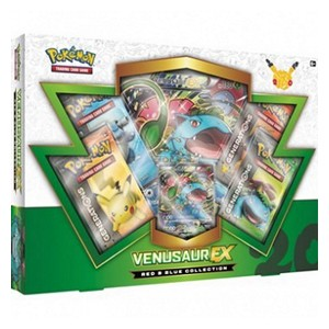 Red & Blue Collections: Venusaur EX Kollektion