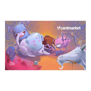 "Tapis Cardmarket ""Cat vs. Goat"""