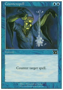 NEAR MINT WB COUNTERSPELL INGLESE MTG CONTROMAGIA