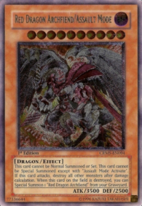 Red Dragon Archfiend/Assault Mode (Version 4 - Ultimate Rare)