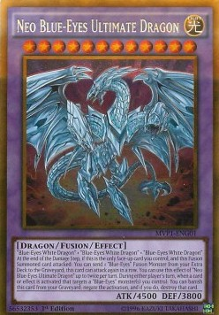 Neo Blue-Eyes Ultimate Dragon (V.2 - Gold Rare)