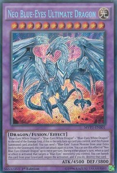 Neo-Blauäugiger ultimativer Drache (Version 3 - Secret Rare)
