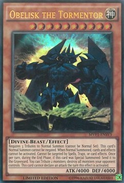 Obelisk the Tormentor (V.3 - Ultra Rare)