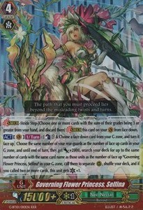 Governing Flower Princess, Selfina [G Format] (Version 2 - Triple Rare)