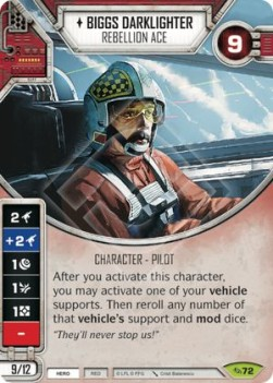 Biggs Draklighter - Rebellion Ace