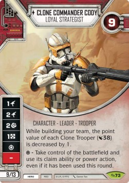 Clone Commander Cody - Loyal Strategist