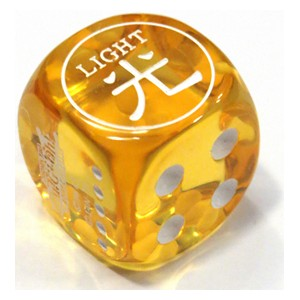 Attribute Dice (Light)