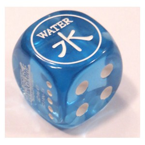 Attribute Dice (Water)