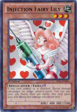 Injection Fairy Lily (V.2 - Starfoil Rare)