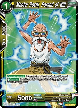 Master Roshi, Forged of Will