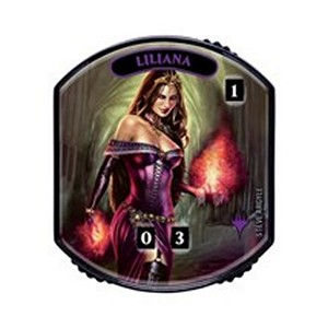 Liliana of the Veil Relic Token (Foil)
