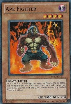 Ape Fighter (Version 2 - Super Rare)