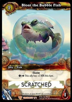 Bloat the Bubble Fish (Scratched Loot)