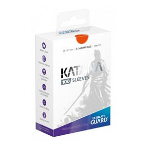 100 Protèges Cartes Ultimate Guard Katana (Orange)