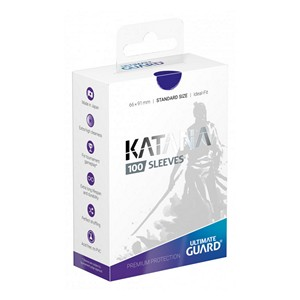 100 Ultimate Guard Katana Sleeves (Blue)