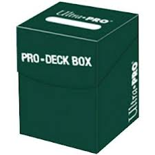 "Ultra-Pro: ""Pro-Deck Box"" 100+ (Green)"