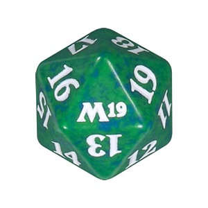Core 2019: D20 Die (Green)