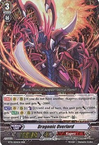 Dragonic Overlord [G Format] (V.2 - Triple Rare)