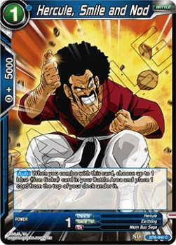 Hercule, Smile and Nod (Version 1 - Common)