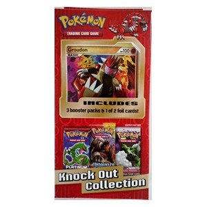 BW Knock Out Collection: Colleccion Groudon