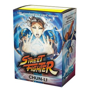100 Dragon Shield Sleeves - Street Figher Chun-Li
