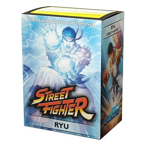 100 Dragon Shield Sleeves - Street Figher Ryu
