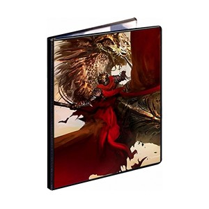 Crimson Rider 9-Pocket Binder