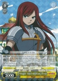 Magic Swordsman, Erza