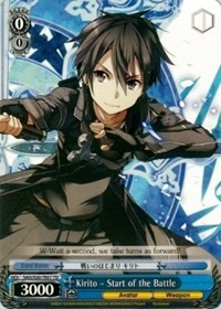 Kirito - Start of the Battle