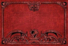 Dragon Shield - Arcane Dragons: Red Playmat