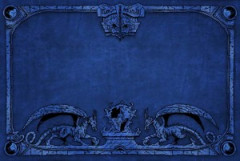 Dragon Shield - Arcane Dragons: Blue Playmat