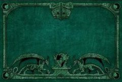 Dragon Shield - Arcane Dragons: Green Playmat