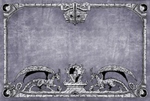 Dragon Shield - Arcane Dragons Playmat (Gray)