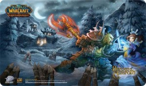 Heroes of Azeroth Playmat
