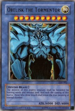 Obelisk the Tormentor (Version 2 - Ultra Rare)