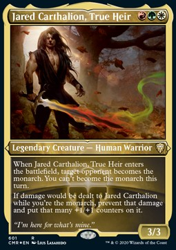 Jared Carthalion, True Heir