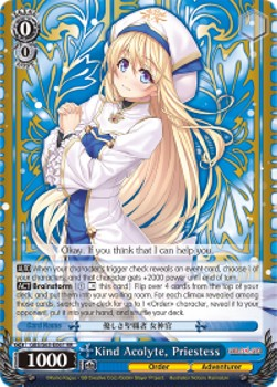 Kind Acolyte, Priestess (Versione 1 - Double Rare)