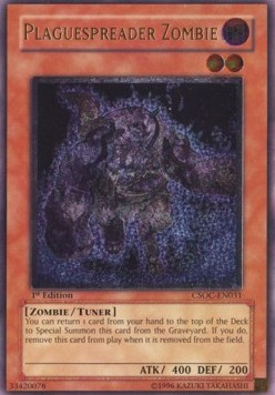 Plaguespreader Zombie (Version 2 - Ultimate Rare)