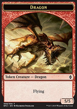 Dragon Token (Red 5/5)