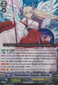 Omniscience Regalia, Minerva [G Format] (Version 2 - Triple Rare)
