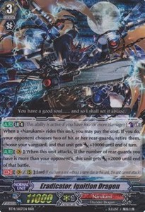 Eradicator, Ignition Dragon [G Format] (V.2 - Triple Rare)