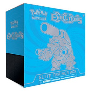 Elite Trainer Box de Evoluciones (Blastoise)