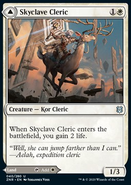 Skyclave Cleric // Skyclave Basilica