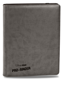 Ultra Pro Premium Pro Binder 9-Pocket Binder (Gray)