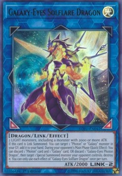 Galaxy-Eyes Solflare Dragon