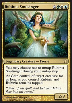 Rubinia Soulsinger (Version 1)