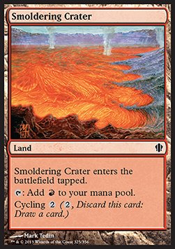 Smoldering Crater