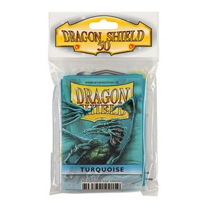 50 Dragon Shield Sleeves - Turquoise