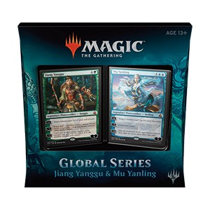 Set completo de Global Series Jiang Yanggu & Mu Yanling