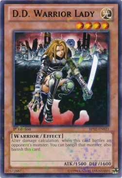 D.D. Warrior Lady (Version 1 - Mosaic Rare)